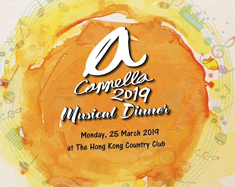 a Cappella Musical Dinner 2019